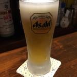 居酒屋 春告魚 - ビールはアサヒ