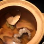蕪屋 - 松茸土瓶蒸し