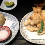 蕪屋 - 天ぷら色々