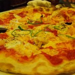 75916453 - シーフードピザ