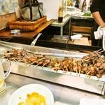 中畑商店 - 客が自由に取って食べるシステム