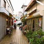 中畑商店 - 神戸の下町にある細い路地の奥にお店はある