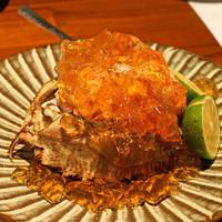 ながほり - 料理写真:活毛蟹ジュレ添え