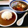 ホテル日の出岬 - 料理写真:しょうゆラーメン&カレー