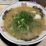 中華そば 花京 - こってり背脂中華そば(720円)