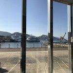 南蛮亭 - 朝の長崎港