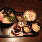 忍庭 - 海鮮丼定食(800円)