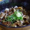 訪辺歩来 - 料理写真:キノコ蕎麦