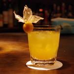 ザ・バー・カサブランカ - ドリンク写真:ほおずきのカクテル