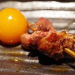 焼鳥 美鶏 - 料理写真:ちょうちん、レバー、ハツ元