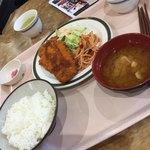 南館食堂 シルフィード - 料理写真:チーズチキンカツ定食(^∇^)