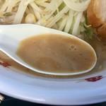 ちばから - 乳化したスープ(松戸モリヒロフェスタ)