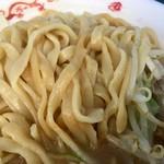 ちばから - 平打ち麺(松戸モリヒロフェスタ)