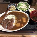 遊月亭 - 「特製 蝦夷鹿カレー」1,000円