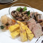 アマルフィイ ホワイトガーデン - 前菜(4人分)