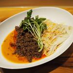 麺屋 坂本01 - 料理写真:'17.10汁なし担々麺