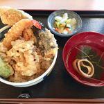 さぬきうどん 福梅 - 料理写真:ミニ天丼 500円