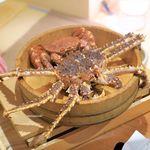 赤坂 きた福 - 北海道産のたらば蟹と噴火湾の毛蟹