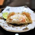 赤坂 きた福 - 毛蟹の味噌和え