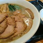 中華そば 一颯 - 肉そば(小)+生玉子 950円