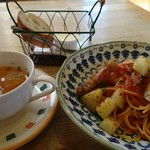 カフェドゥマージュ - 料理写真:パスタランチ(1150円)