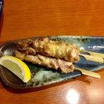 壱献 - 鶏モモ串焼き