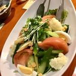 75929437 - 11種の野菜サラダ