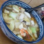 中華料理 新三陽 - 五目うま煮そば(800円)2017年10月