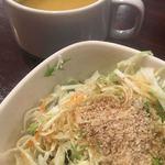 ノック オン ウッド - スープとサラダ