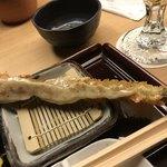新宿 立吉 - アスパラガスと自家製マヨネーズ
