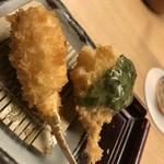 新宿 立吉 - カニとトマトとモッツァレラチーズにジェノベーゼソース