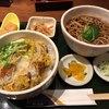 そば処 つづらお - 料理写真:かつ丼セット 温そば 1,050円