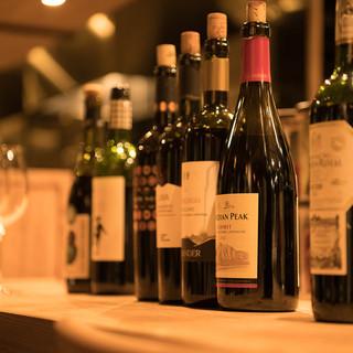 ご来店の度に、ワインとの新しい出会いがあるかも