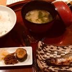 75935517 - 最後はお食事ですが、北海道のシシャモを付けていただきました!