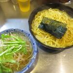 めん屋 桔梗 - 塩つけ麺の特盛り@850円(税込み)