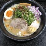 Ramen光鶏 - 鶏白湯味噌ジンジャー 900円