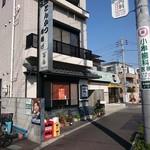 とんかつ・串揚げ 冨岳 - 店舗隣に駐車場があります