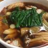 永井 - 料理写真:ピリ辛肉汁うどん