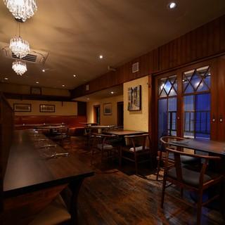 ◆大人のお食事や特別な記念日に落ち着いた雰囲気の店内です