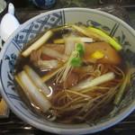 安藤 - 料理写真:名物「鴨なんばん」