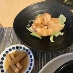 中國菜 心香 - 海老と長芋のマヨネーズ和え