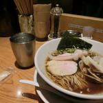 むぎとオリーブ 銀座店 - 蛤SOBA。980円