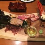 ロブスター&ワイン クスクス - 活きオマールの刺身