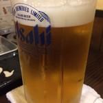 備長扇屋 - ドリンク写真:メガビール