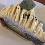 洋菓子工房 ケーキ屋 shimizu - 胡麻とサツマイモのモンブラン