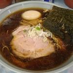 ラーメン丸仙 - 料理写真:見えない熱さ。でもメチャ熱どんぶり