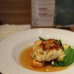 野菜ダイニング 菜宴 - 週替わりランチ(豆腐と鶏のハンバーグ) 930円(税込み)(2017.11)