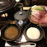 味の蔵 - すき焼き膳(¥1780)