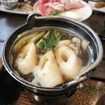 和風宿 岡部荘 - きりたんぽ鍋