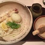 四ツ谷胡桃屋 - ちく玉天ぶっかけうどん(並)